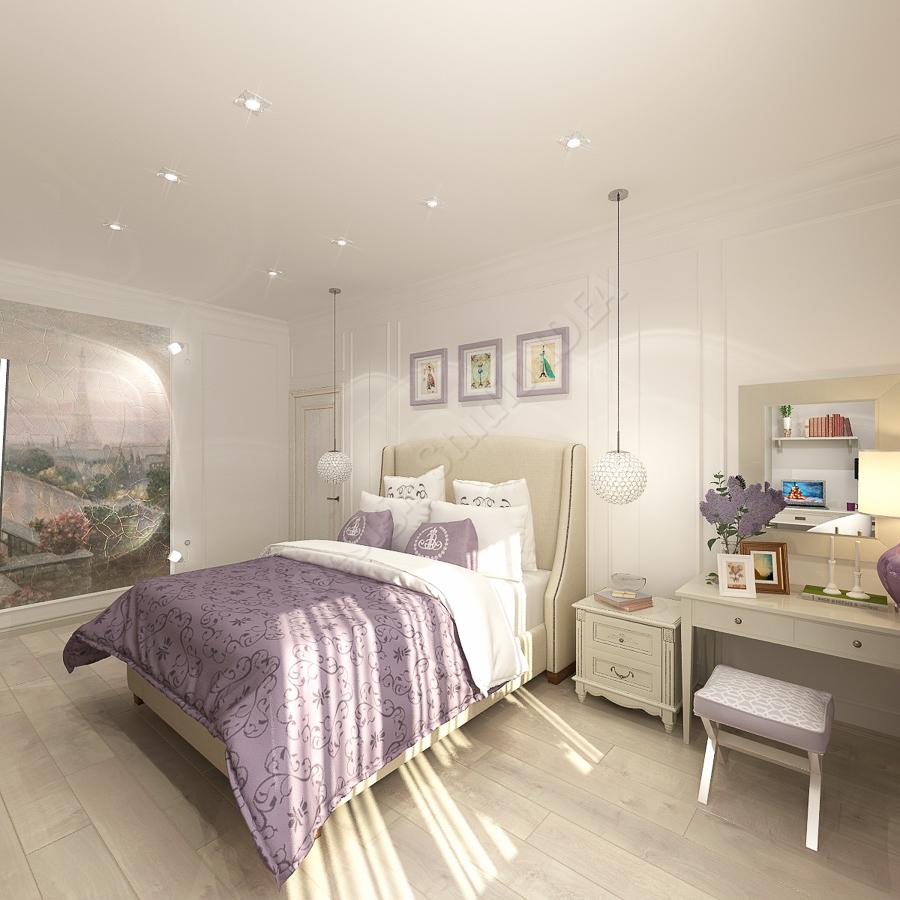 Дизайн студия IDEA дизайн спальни (1)