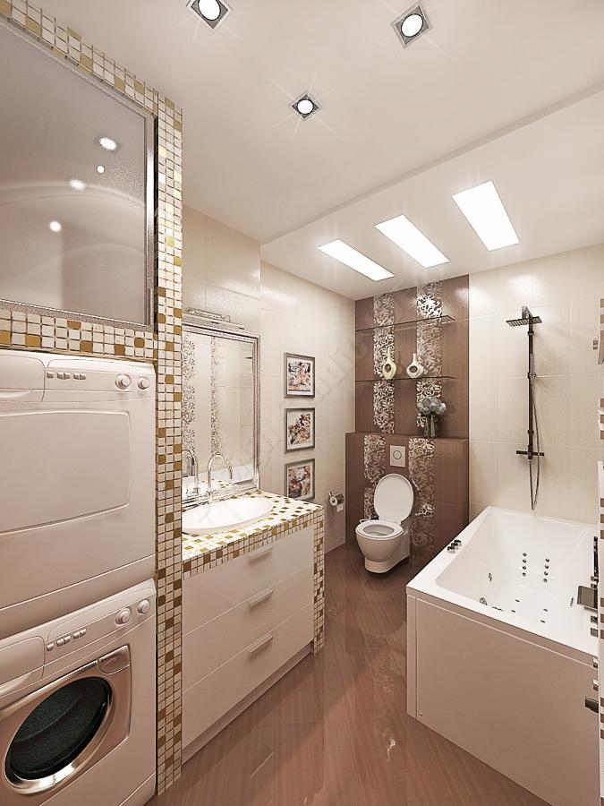 Дизайн студия IDEA дизайн ванны 000 (2)