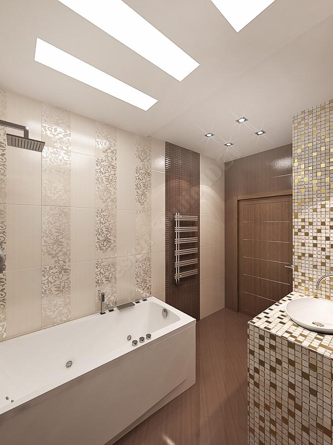 Дизайн студия IDEA дизайн ванны 000 (3)