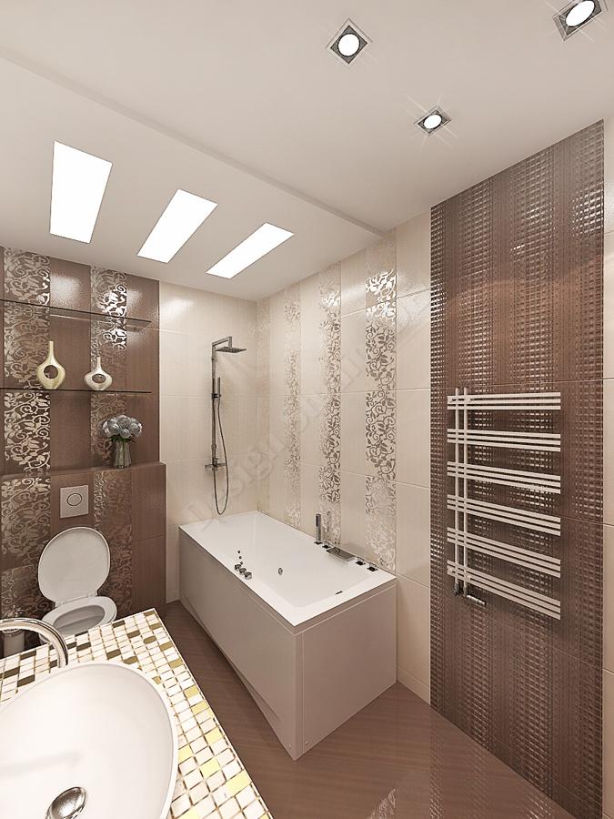 Дизайн студия IDEA дизайн ванны 000 (4)