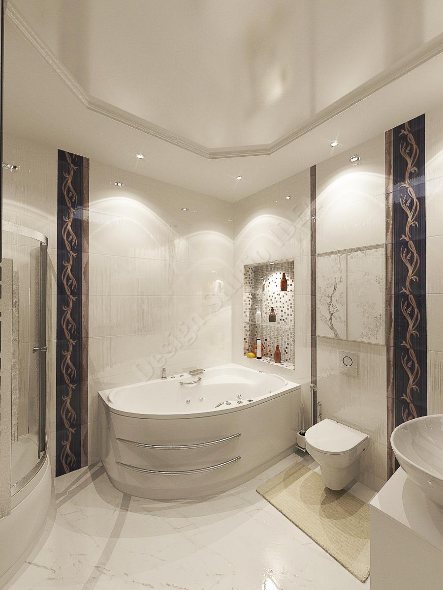 Дизайн студия IDEA дизайн ванны (1)