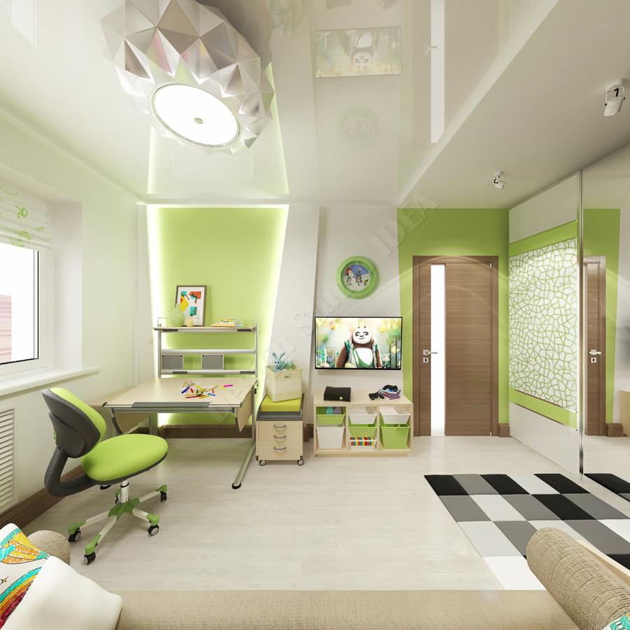 Дизайн студия IDEA дизайн детской