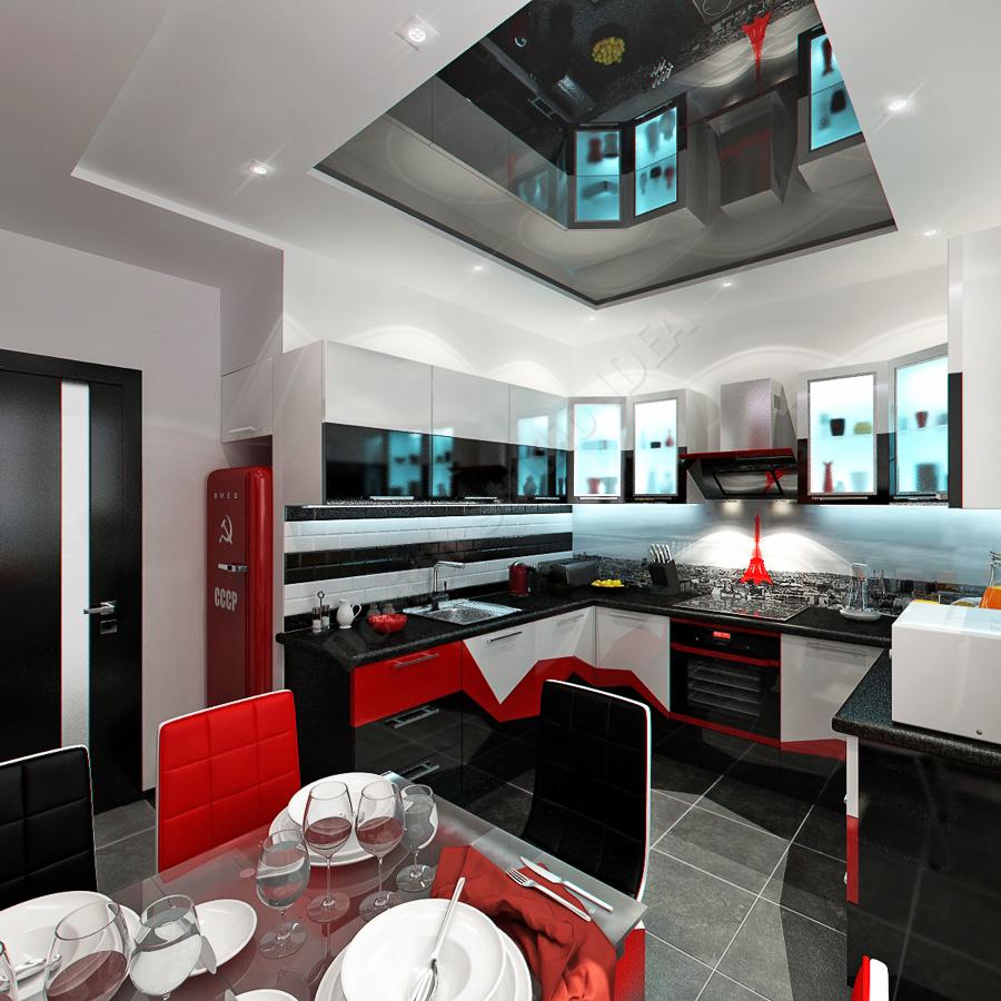 Дизайн студия IDEA дизайн кухня