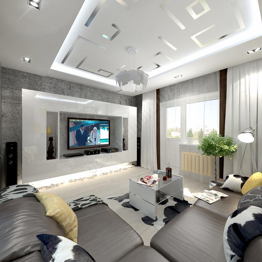 Дизайн студия IDEA дизайн гостиная