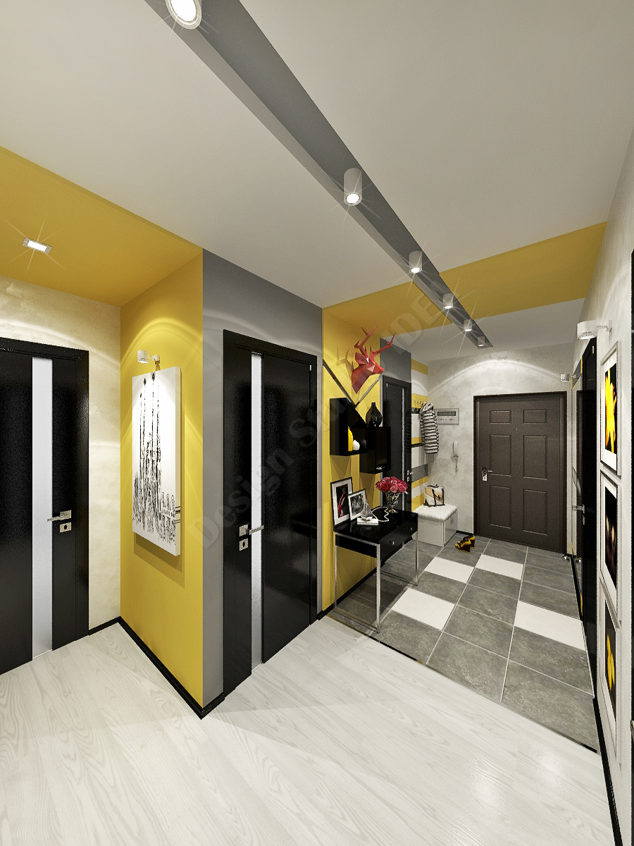 Дизайн студия IDEA дизайн коридора