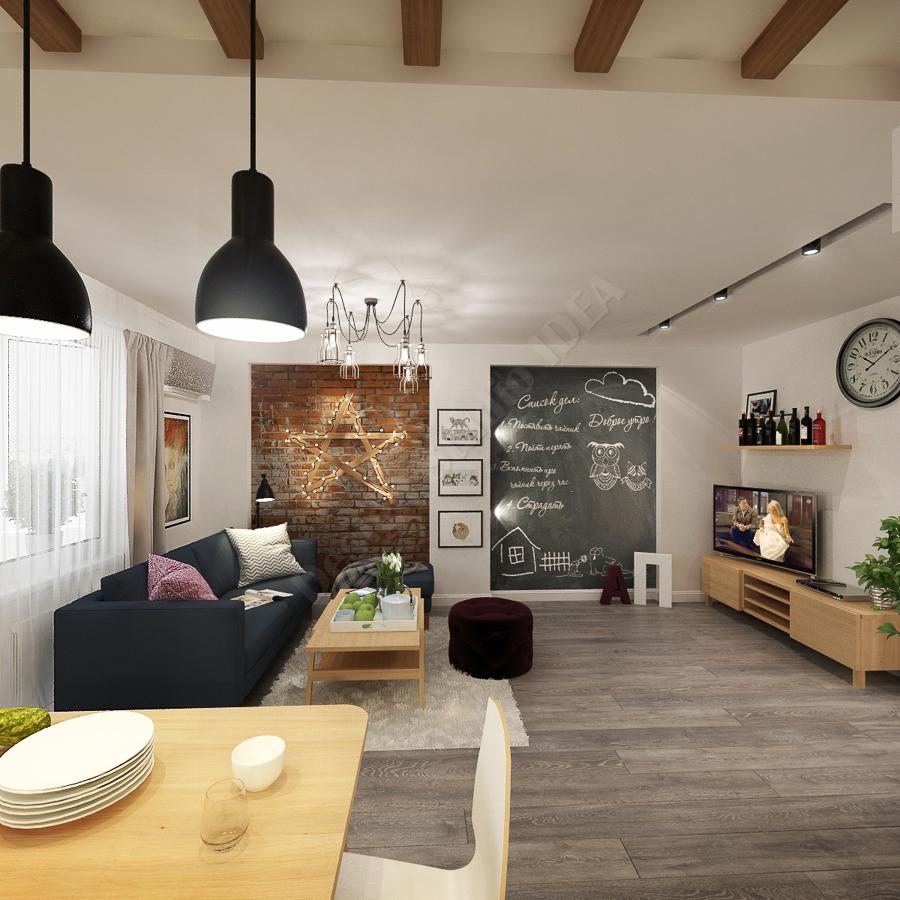 Дизайн студия IDEA дизайн студии, кухни, гостиной