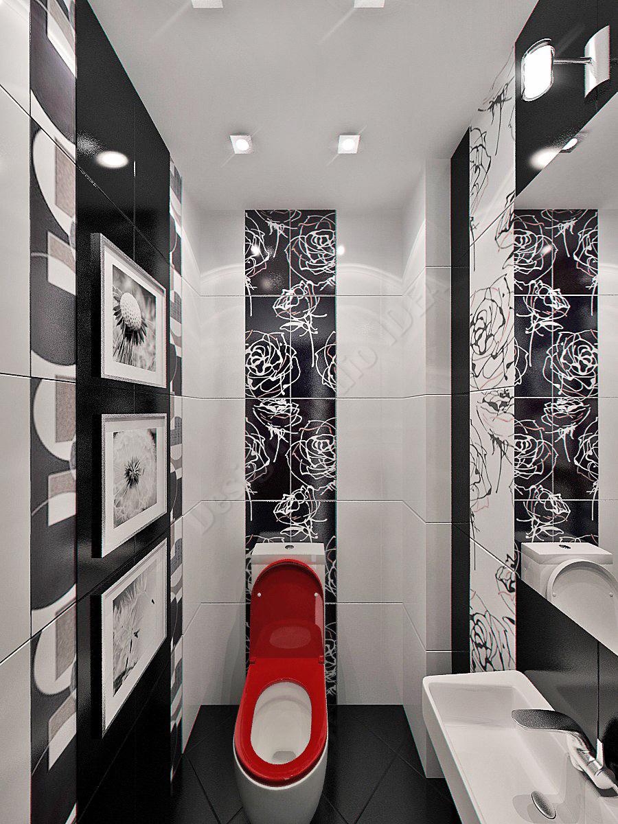 Дизайн студия IDEA дизайн туалета