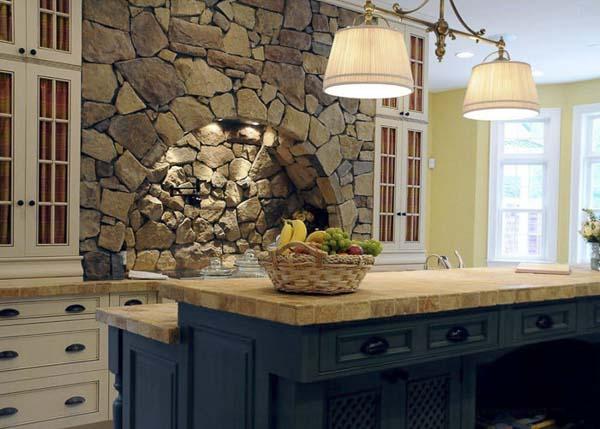 Кухня камень