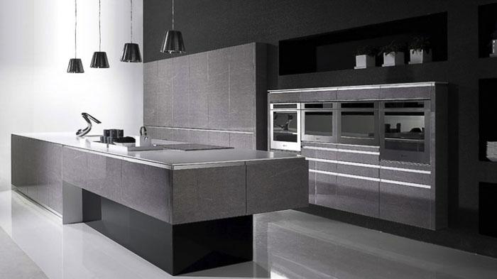 Moderne kuche grundriss