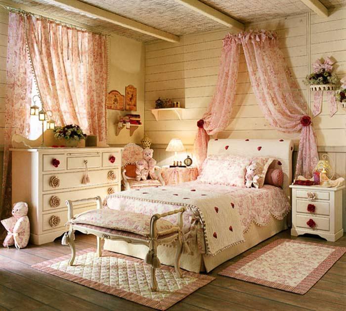 Интерьер спальни в стиле прованс своими руками