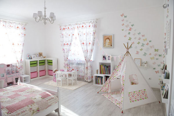 детская девочки  Дизайн студия IDEA