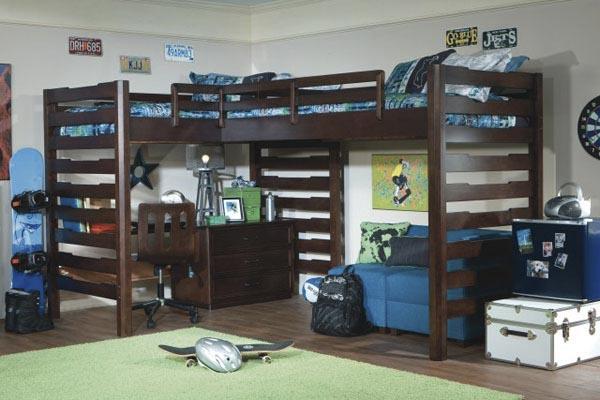 Дизайн детского интерьера двойные кровати